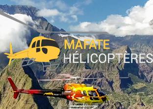 Mafate Hélicoptères - île de la Réunion